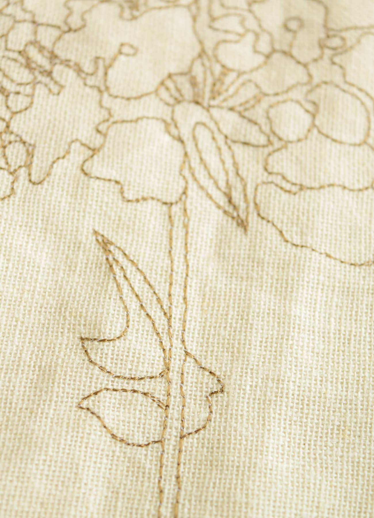 刺繍カーテン オルタンシア⑥