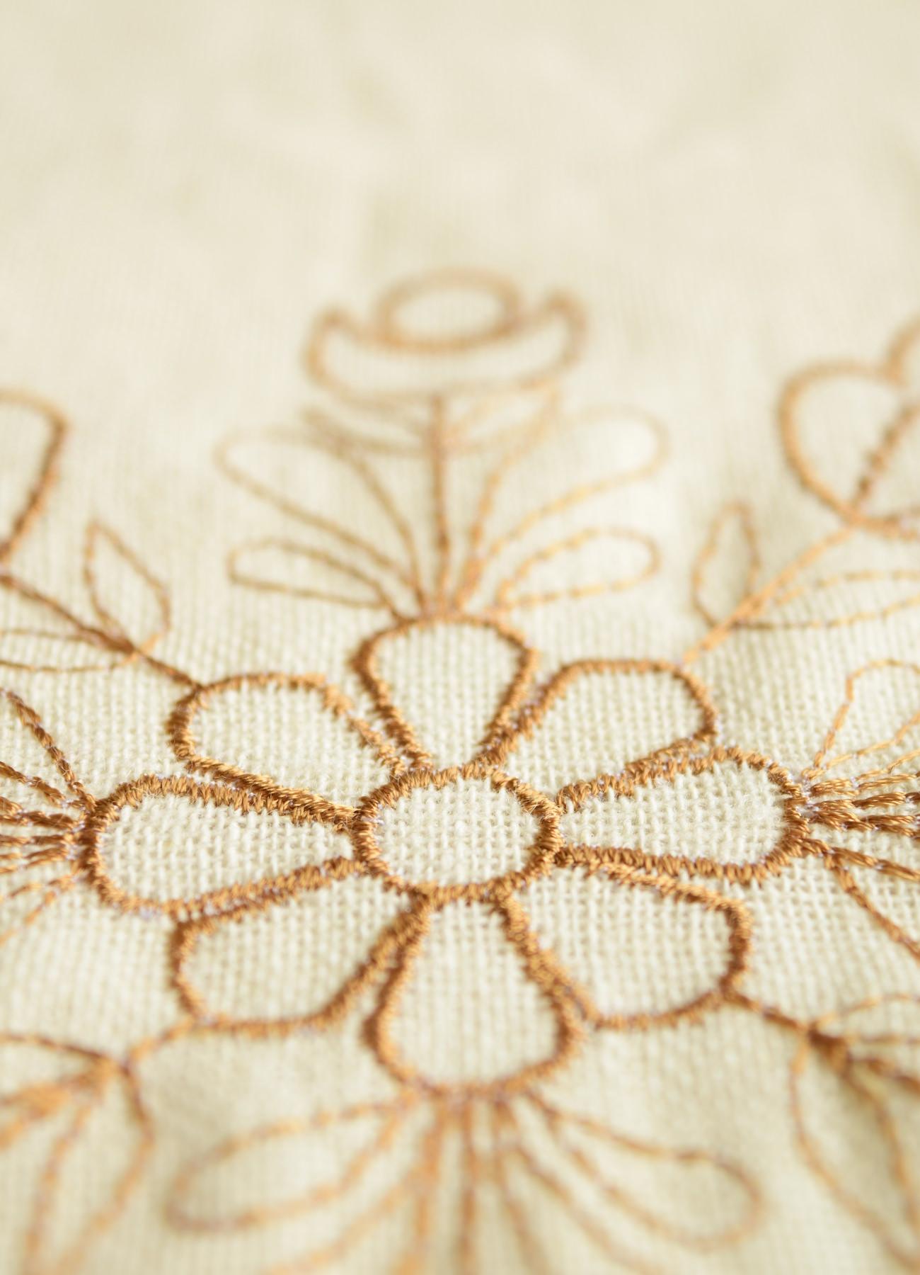 繍カーテン ウエディングブーケ⑪