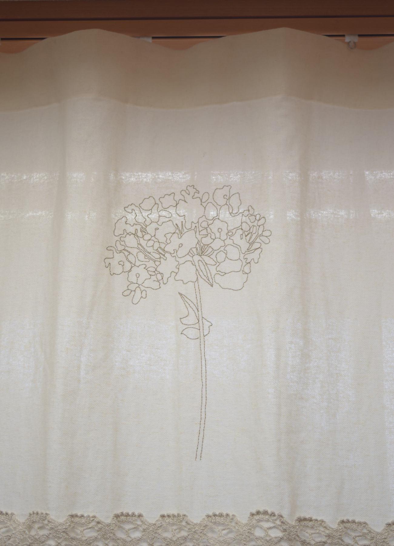 紫陽花刺繍B