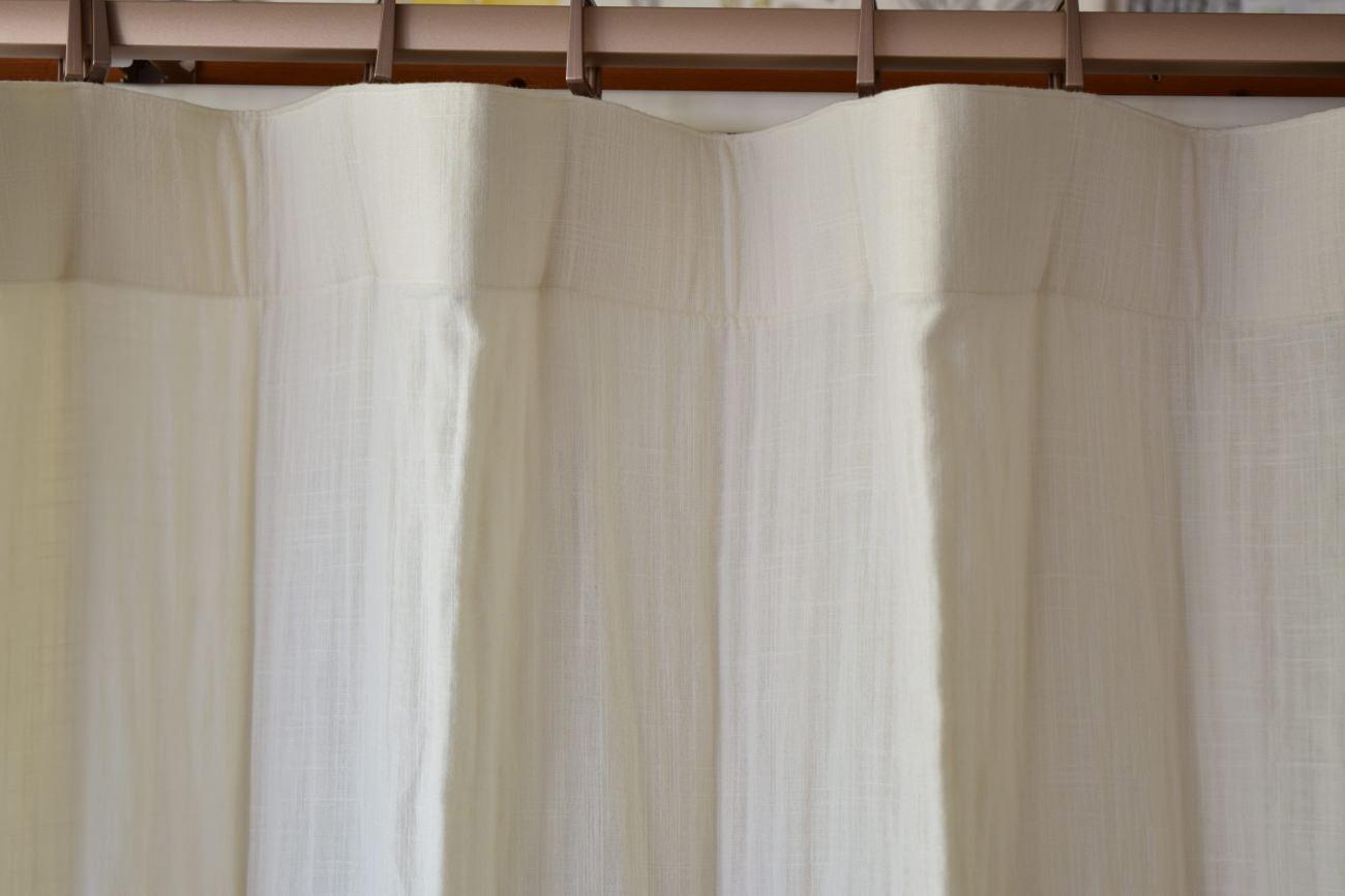 天然素材を使ったカーテン⑤