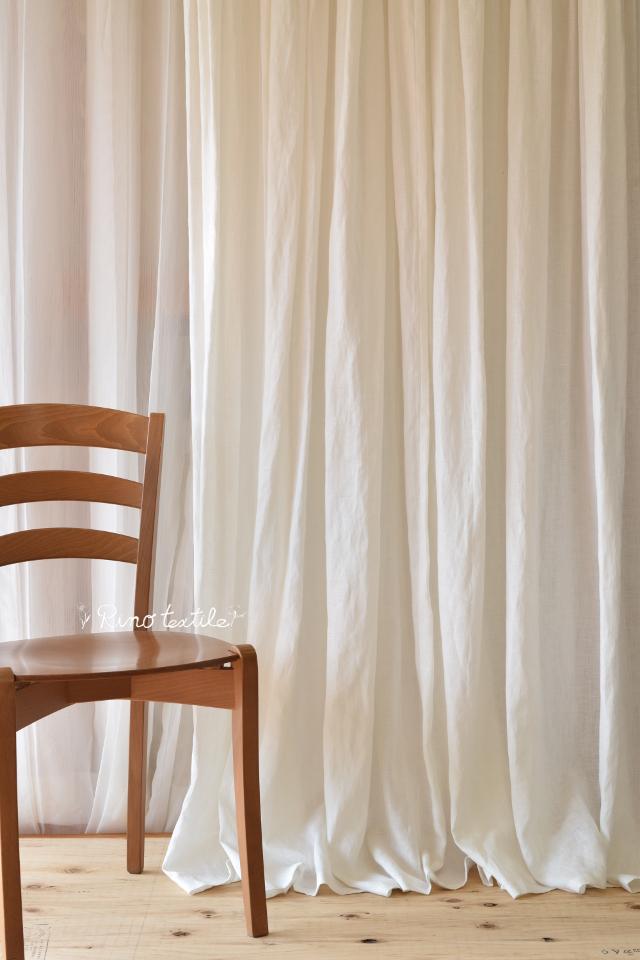 リネンと麻カーテン