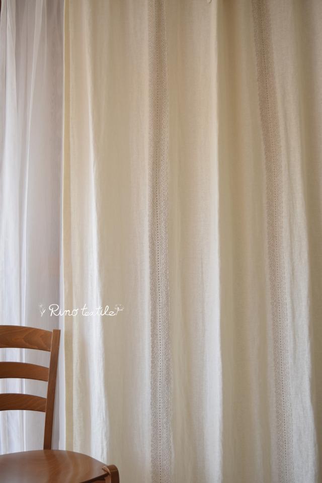 人気麻カーテン