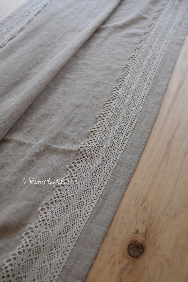リネンのカーテン