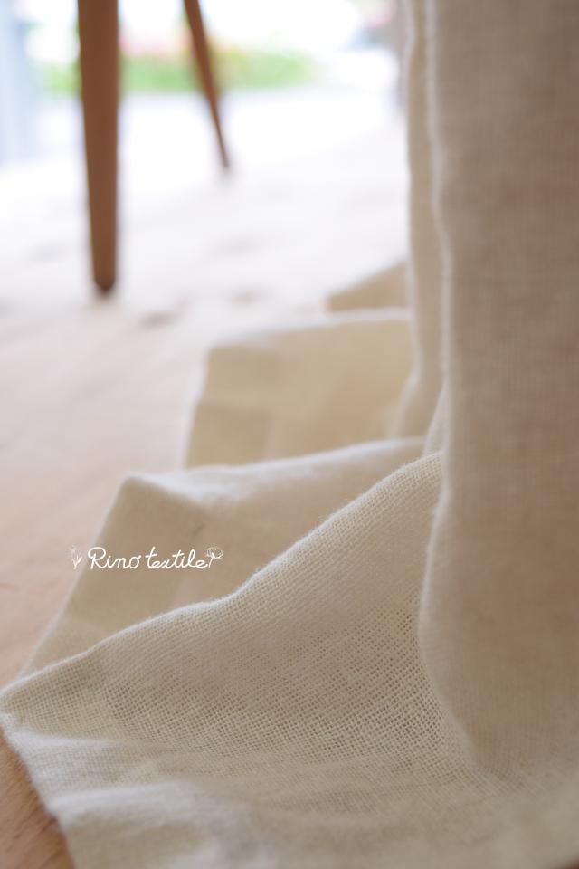 フランス産麻カーテン