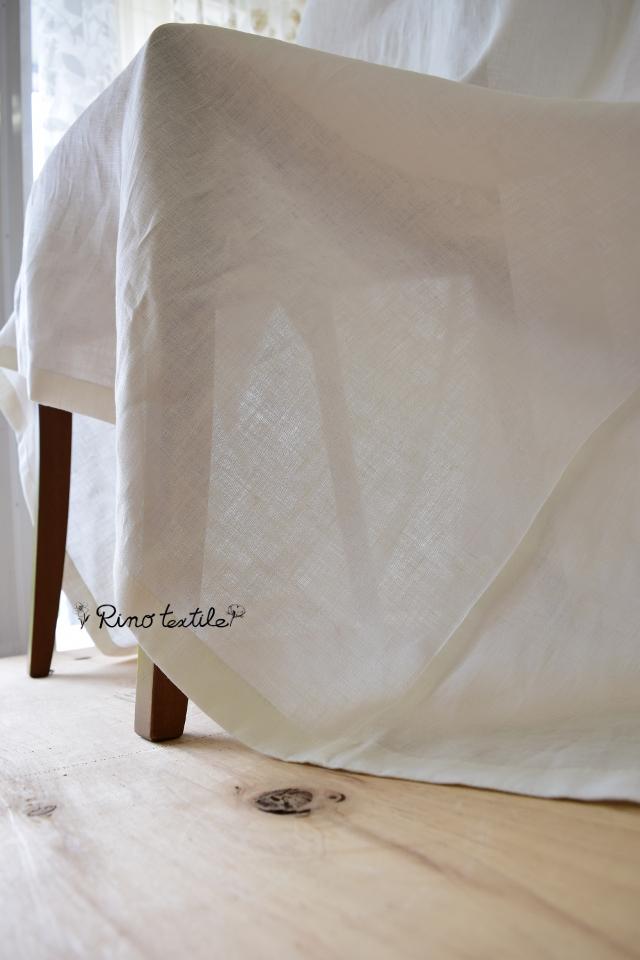国内縫製カーテン リノモデラホワイト