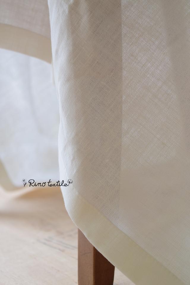 リネンレース リノモデラホワイト