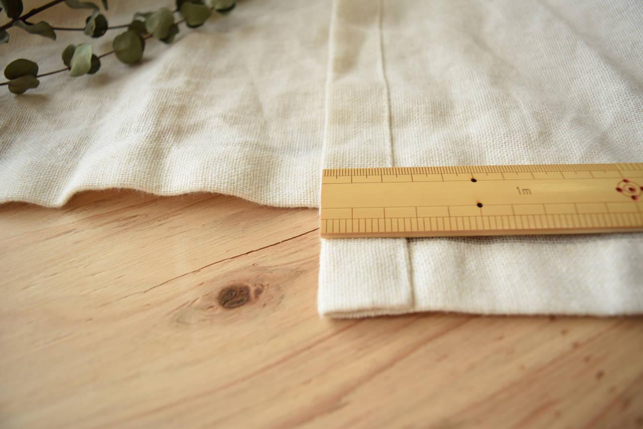 リノフレンチ 裾