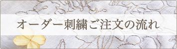 オーダー刺繍ご注文の流れ